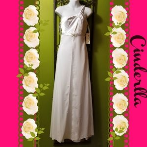 NEW Cinderella long white gown  dress